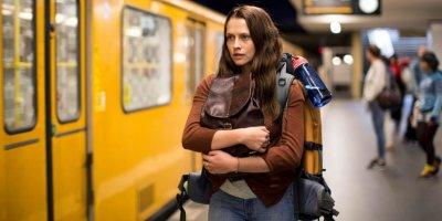 Teresa Palmer arrives in Berlin in Berlin Syndrome