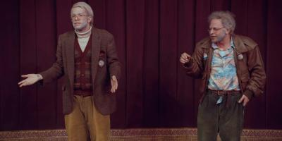 John Mulaney and Nick Kroll in Oh, Hello