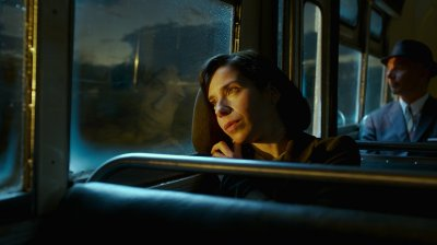 Sally Hawkins Looking into distance